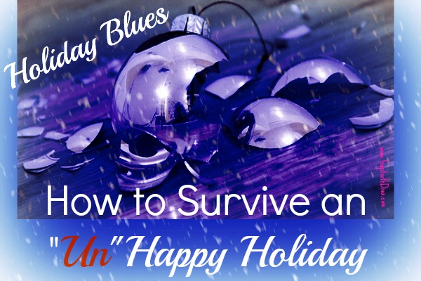 how to survive the holiday blues